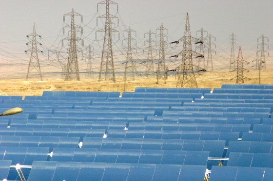 Kuraymat, solar energy, ISCC, solar-thermal, hybrid power plant, Egypt, desert, Desertec, Flagsol, Ibderola, Orascom, renewable energy