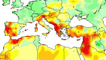 Wintertime Droughts Increase Due To Climate Change