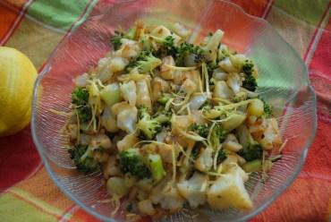 RECIPE: Pan-Roasted Cauliflower and Broccoli