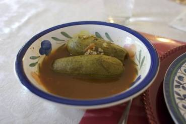 RECIPE: Cousa Mahshi, Lebanese Stuffed Zucchini