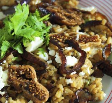 Freekah, Feta and Fig Salad RECIPE