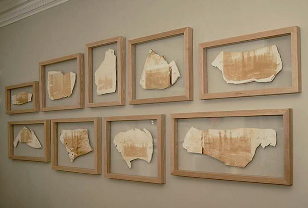 Artist Chronicles the Petrochemical Age With Crude Oil Paintings