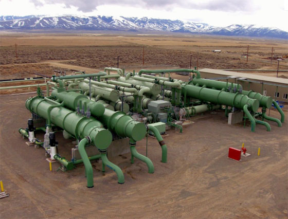 ormat geothermal solar