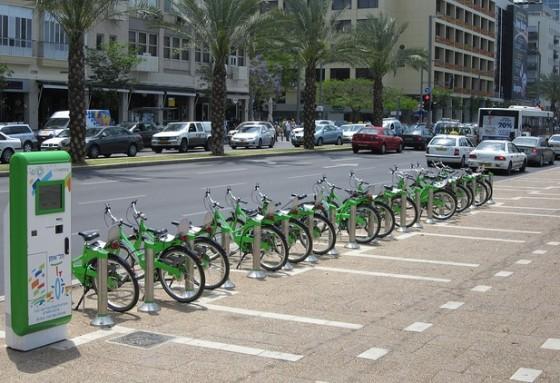 """""""tel aviv bike sharing"""""""