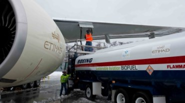 Ethihad Jet Uses Biofuels for Inaugural Home Run