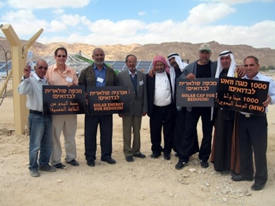 Israel's Bedouin Get Solar from Arava (+ Obama)