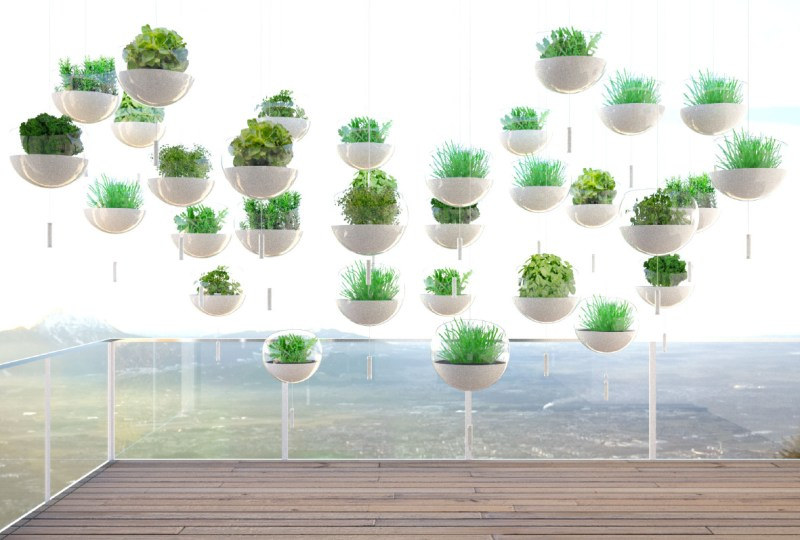 Hanging Balcony Gardens a Beautiful Solution for the Urban Farmer