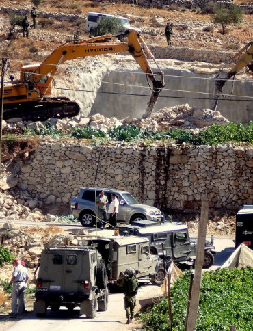 German-Funded Solar Projects in West Bank Face Demolition