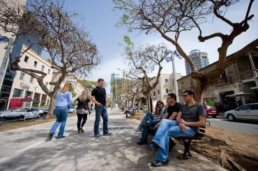 Green Tu B'Shvat Tour of Tel Aviv Celebrates the City's Planted Areas