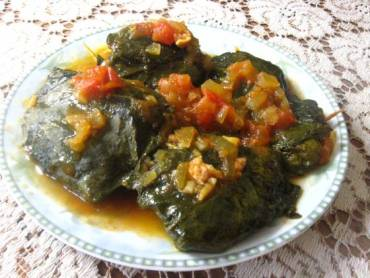 The Weekly Vegewarian Recipe: Stuffed Jerusalem Sage