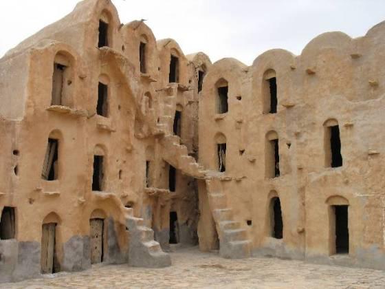 green design, earth architecture, adobe architecture, green building, Tunisia, granary, Berber, culture, travel, nature, architecture
