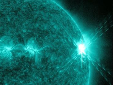 Solar Flare and Geomagnetic Storm Spares Earthlings