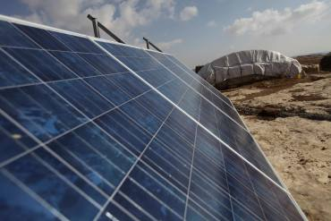 Battle To Save Solar In Remote Palestinian Villages