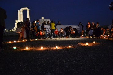 Jordanians Hold Vigil for Fukushima