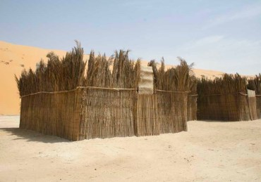 Earth-Friendly Vernacular Date Palm Leaf Architecture Revisited in London