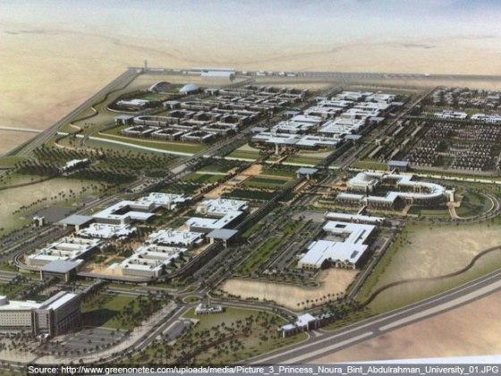 Saudi, solar, solar thermal, cleantech, Gulf, desert, Princess Noura bint Abdul Rahman University, PNBAR