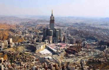 Saudi's Mecca is Becoming a Holy Sprawl