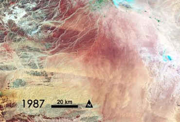 Saudi's Waste of Ice Age Water Depicted in 4 NASA Images