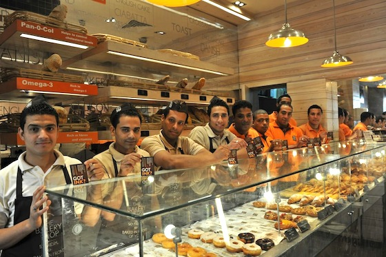Eco-Friendly Bakery Gives Historic Presidential Voters in Egypt Free Pastries