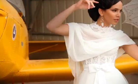 Eco-Friendly Bridal Gowns the Israeli Way By Liraz Rubbin