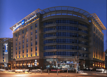 Dubai's Radisson Blu Goes Green