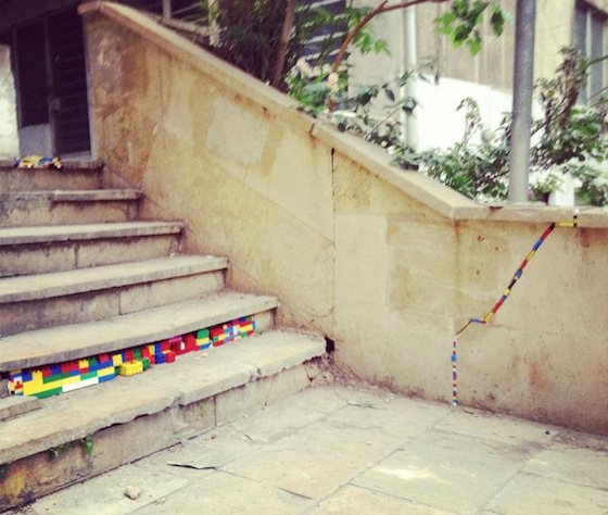LEGO Mania Spreads to Lebanon's Crumbling Capital