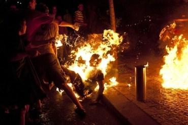 Israel Social Protestor Sets Himself on Fire At Jerusalem Rally