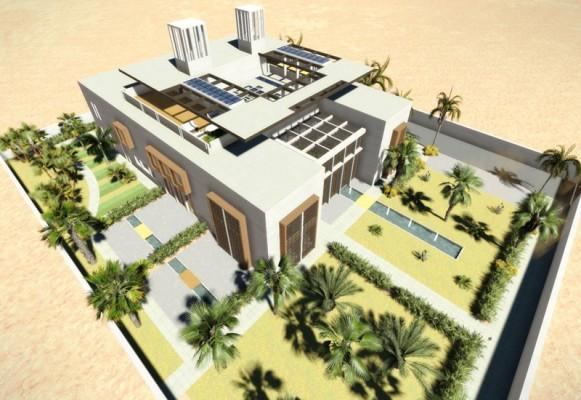 Qatar Commissions Groundbreaking Eco Villa From UK Architects