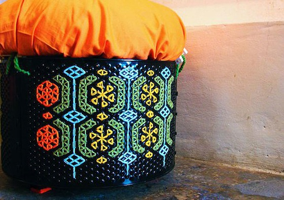 Lebanon Green Designers Transform Washing Machines Into Beautiful Seats