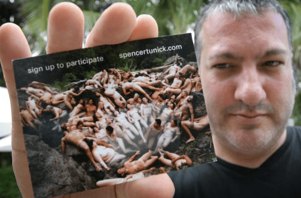 Spencer Tunick Will Float Clothed at the Dead Sea