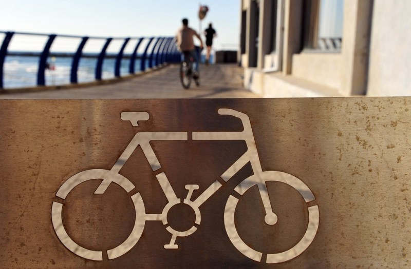 Fourteen Percent of Tel Aviv is Biking to Work or School