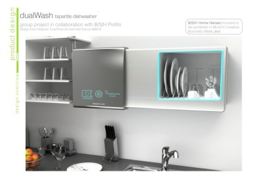 Waterless Dishwasher From Turkey Cleans up After Every Meal