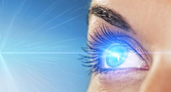 laser eye sun, solar panels