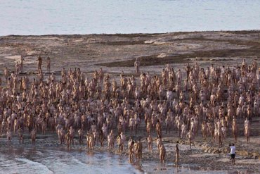Floating With Spencer Tunick to Save the Dead Sea