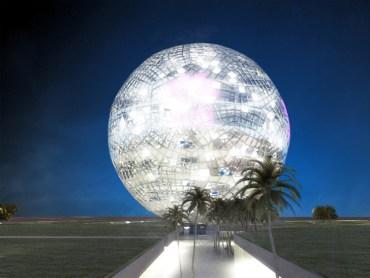 Revolving Crystal Ball Predicts Qatar's World Cup Ambitions