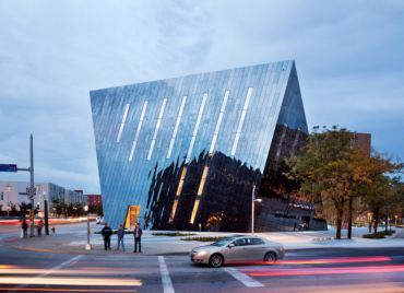 Iranian Farshid Moussavi's Prismatic MOCA in Cleveland Goes for LEED Silver