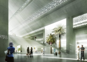 Archi5's Solar-Powered Archaeology Museum for Morocco