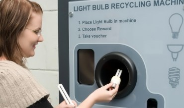 Green Recycling Machines for Light Bulbs and Batteries in Sharjah