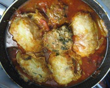 Mafroum, Moroccan Stuffed Potatoes: RECIPE