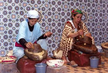 "Morocco's Berber Women Empowered by Rare ""Miracle Oil"""
