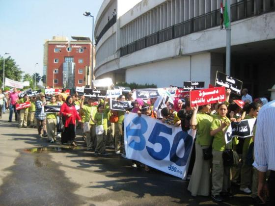 350.org, climate change, Egypt, environmental activism, climate change coalition, COP 18