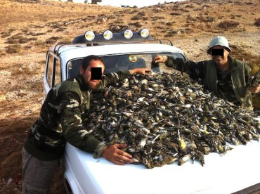A Bonnet Full of Dead Birds Angers Lebanese Nature Lovers