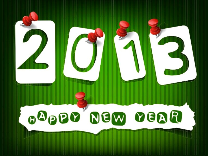 6 Eco Resolutions for 2013