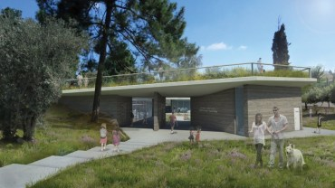 Native Green Roof Tops Israel's Proposed Fallen Sons Memorial