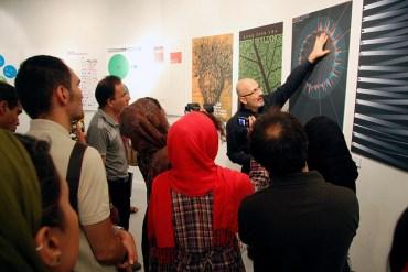 Urban Graphic Design Exhibition Shakes Up Tehran