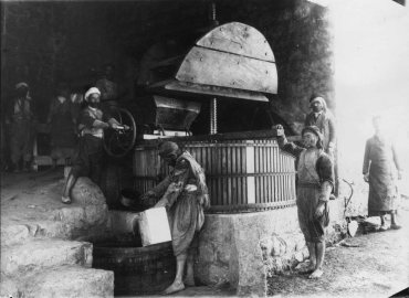 Toast Chateau Ksara's Traditional Wine Making in Lebanon