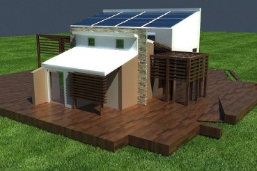 Going Off The Grid In Egypt with the Solar House