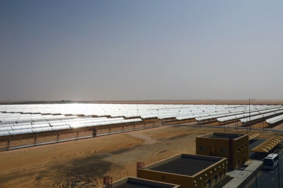 Masdar, clean tech, carbon capture, CCUS, Shams 1, World's largest CSP solar plant, World Future Energy Summit, Masdar Clean Energy