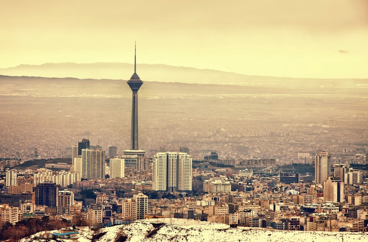 Iran Gags on Pollution and Sanctions