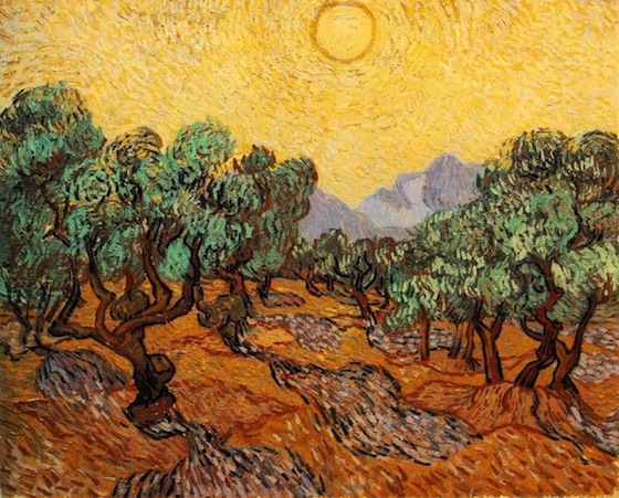 vincent van gogh without trees